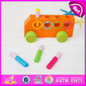 2015 Funny Play Colorful Wooden Car Toy for Kid, Mini Cheap Wooden Car Toy for Children, High Quality Wooden Toy Wholesale W04A147 pictures & photos