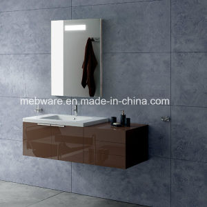 Luxury Modern Bathroom Design with Mirror and Cabinet pictures & photos