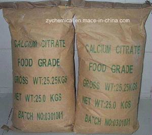 Food Additive, Calcium Citrate, as Chelating Agent; Buffer; Calcium Reinforcer, Emulsifying Salt pictures & photos