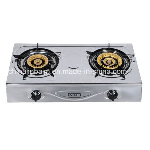2 Burner Stainless Steel 710mm Length Gas Cooker pictures & photos