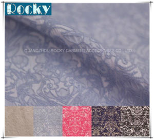 Garment Fabric Accessories Jacquard Lace for Dress