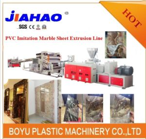 100% Like Marble/Imitation Marble Sheet/Profile/Tiles Extrusion Line