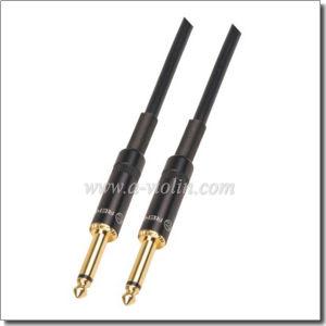 Spiral Shielding PVC Guitar Cable (AL-G022) pictures & photos