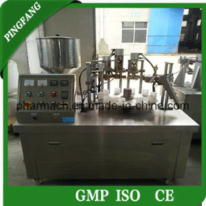 The Newest Sgf Semi-Automatic Plastic Tube Filling and Sealing Machine pictures & photos