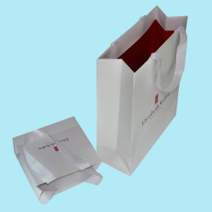 Custom Packaging Printed Paper Bags (OEM-PB033) pictures & photos
