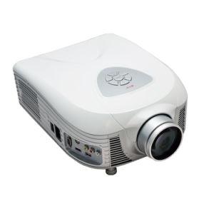 Home LED Projector PC Projectors 1080P HD AV TV Vgb USB 2000 Lumens Cinema