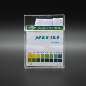 Transparent Box pH Test Paper pH Saliva & Urine Test Strip 4.5-9.0 Chinese Factory pictures & photos