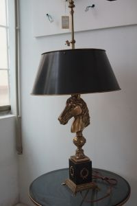 European Brass Horse Table Lighting (KA20318-2VBN) pictures & photos