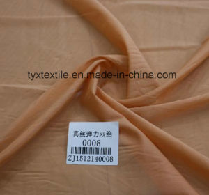 Stretch Cdc 93% Silk 7 % Spandex Crepe
