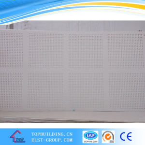1200*2400*12mm Acoustic Gypsum Board/Perforated Gypsum Board pictures & photos
