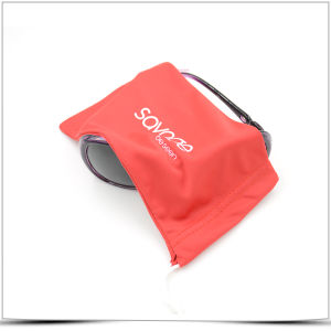 Custom Offset Printing Logo Microfiber Sunglasses Pouch pictures & photos