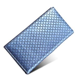 Wholesale Genuine Leather Wallet Weave Deisgner Fashion Purse Bag (XQ0693) pictures & photos