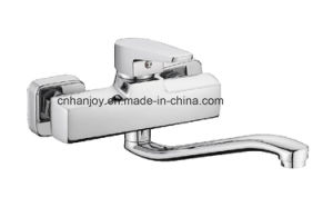 New Model Wall Mounted Single Handle Kitchen Faucet (H02-104) pictures & photos