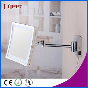 Fyeer Single Side Square Foldable LED Bathroom Makeup Mirror pictures & photos