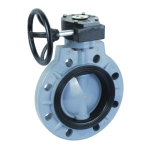 Pph Plastic Butterfly Valve pictures & photos
