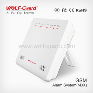 GSM Alarm System with 99 Wireless Zone Smart Phone Application pictures & photos