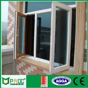 Price of Aluminum Casement Window with As2047 Double Glass Pnoc0004cmw pictures & photos