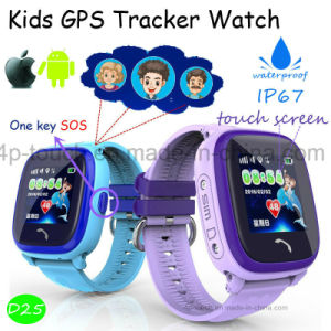 High Quality Kids Smart GPS Tracker Watch with Pedometer D25 pictures & photos