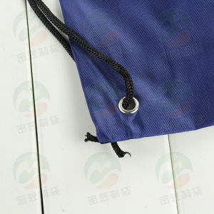 Customized Drawstring Shopping Bag with Log M. Y. D-013 pictures & photos