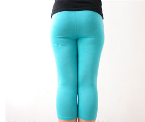 Women Plus Size Xxxl Candy Color High Elestic Modal Legging pictures & photos