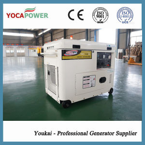 Powerful Engine 5.5kw Air Cooled Small Diesel Generator Set pictures & photos
