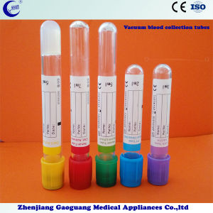 Pet Disposable Vacuum Blood Collection Tubes (XC-CXG-001) pictures & photos