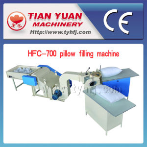CE Certified Small Pillow Filling Machine (HFC-700) pictures & photos