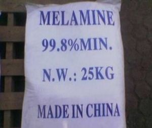 White Powder Material of Melamine DCDA 99.8% pictures & photos
