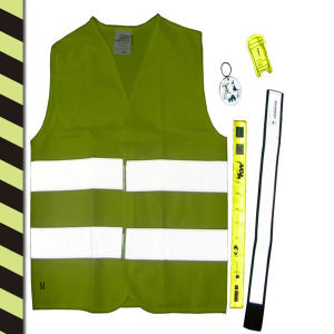 High Bright Children′s Reflective Package Vest Bsci Standard pictures & photos