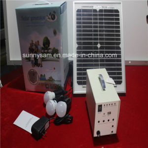 100W Solar Power Home System for Home Lighting pictures & photos