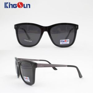 Classic Acetate Sunglasses with Polarized Lens Ks1128 pictures & photos