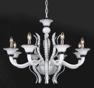 White Glass Modern Pendant Chandelier (81083-8) pictures & photos