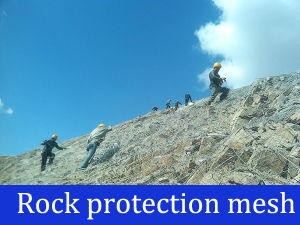 Qaulity Rock Protection Wire Mesh pictures & photos