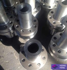 Forged Raised Face Long Welding Neck Stainless Steel Flange pictures & photos