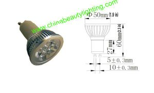 Dimmable 3/5/7W GU10 LED Spot Light LED Bulb pictures & photos