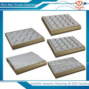 Custom OEM Wooden Jewelry Trays Jewelry Display