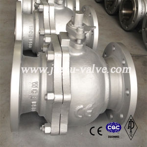 CE Pn16-Pn100 Carbon Steel Lever Oeprated Ball Valve pictures & photos