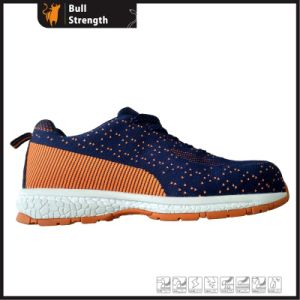 Sport Style Flyknit Shoe Series with EVA/Rubber Outsole (SN5417) pictures & photos