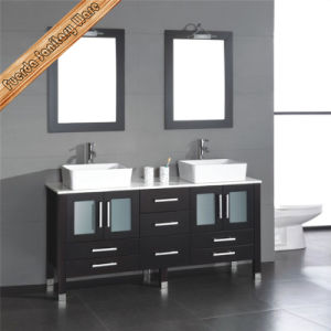 Fed-1889 High Quality Solid Wood Bath Cabinet Bathroom Vanity pictures & photos