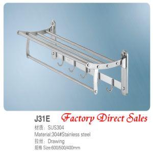 Factory Direct Sales Bathroom Towel Rack (J31E) pictures & photos