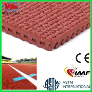Rebound Resilience Rubber Flooring for Athletic Track pictures & photos