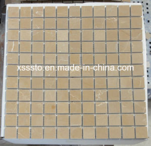 Yellow Marble Mosaic for Interior Decoration Wall and Floor pictures & photos