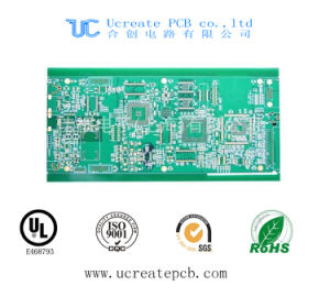 94V0 PCB for Keyboard with Green Solder Mask pictures & photos
