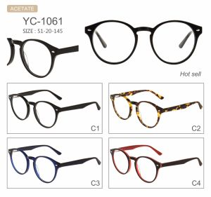 in Stock New Style Factory Sell Acetate Optical Frames Eyeglasses Eyewear pictures & photos