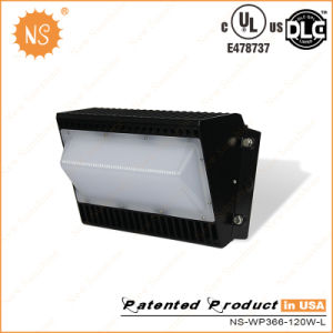 UL (E478737) Dlc Listed IP65 PC 120W LED Wall Pack Lighting