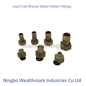 Lead Free Bronze Water Meter Plumbing Fitting pictures & photos