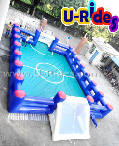 Inflatable Football Court with PVC Bottom pictures & photos