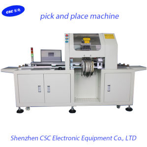 LED Light Auto Pick Place Machine / LED Chip Mounter