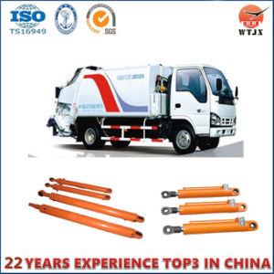 Double Acting Hydraulic Cylinder for Compression Garbage Truck pictures & photos