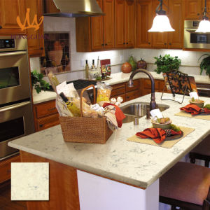 Good Price Yellow Color Artificial Quartz Countertops for Kitchen pictures & photos